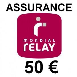 Assurance Mondial Relay 50€